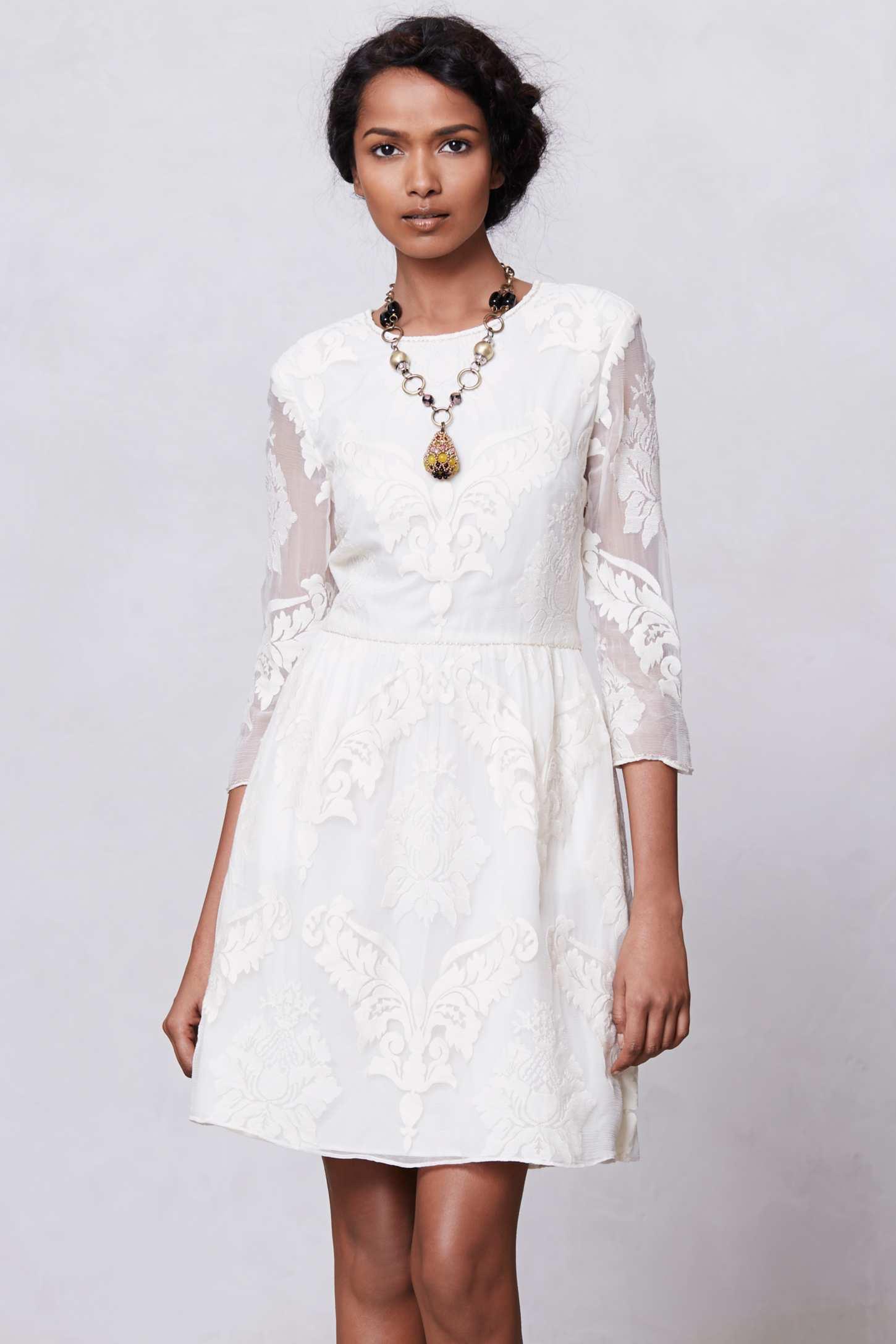 Petite robe dentelle