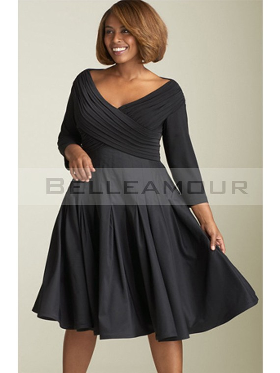 Robe soiree hiver grande taille