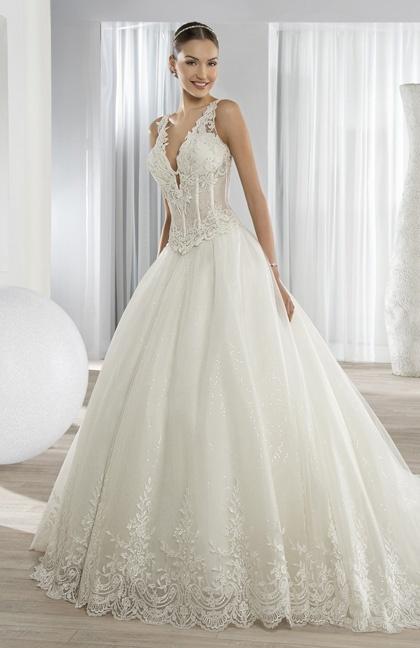 ab42ff04045 Model robe de mariée 2016 - Chapka