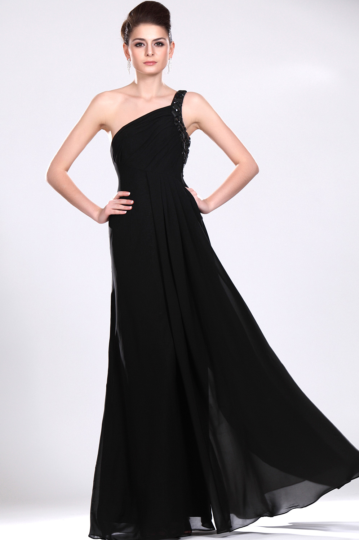Robe soiree en noir