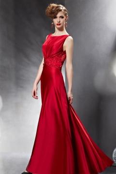 Photo robe de soiree rouge