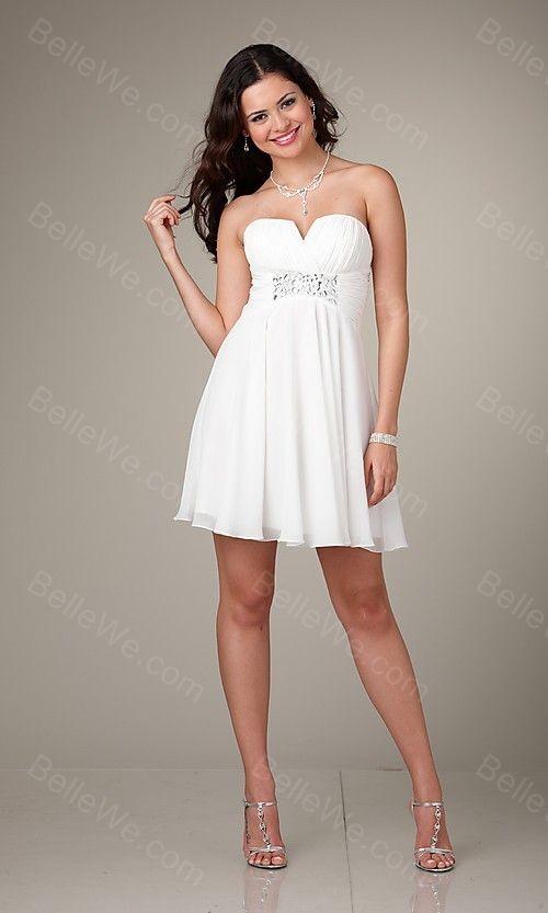 Robe blanche soiree