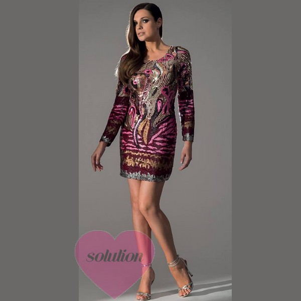 Robe cocktail hiver pas cher