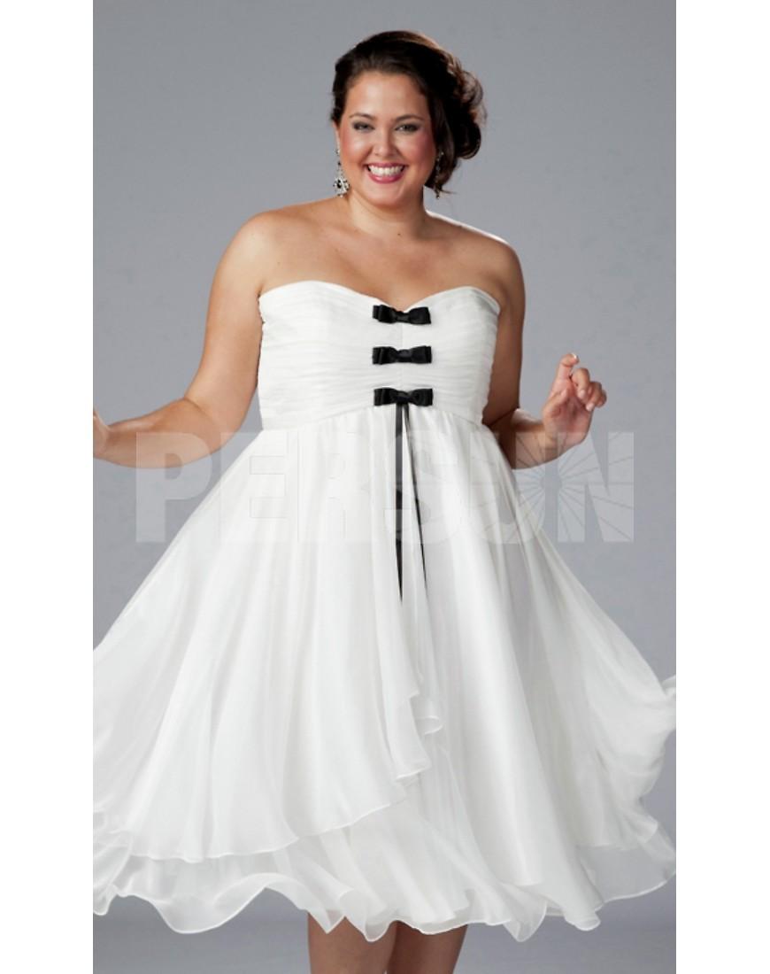 robe blanche longue grande taille photos de robes. Black Bedroom Furniture Sets. Home Design Ideas