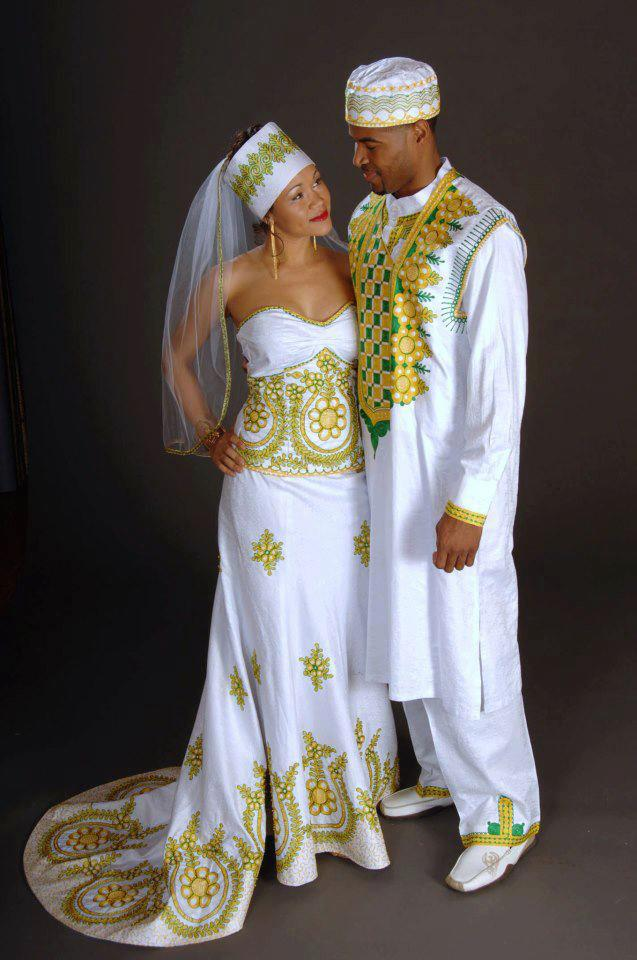 Robe de mariage africaine photos de robes Decoration africaine pas cher