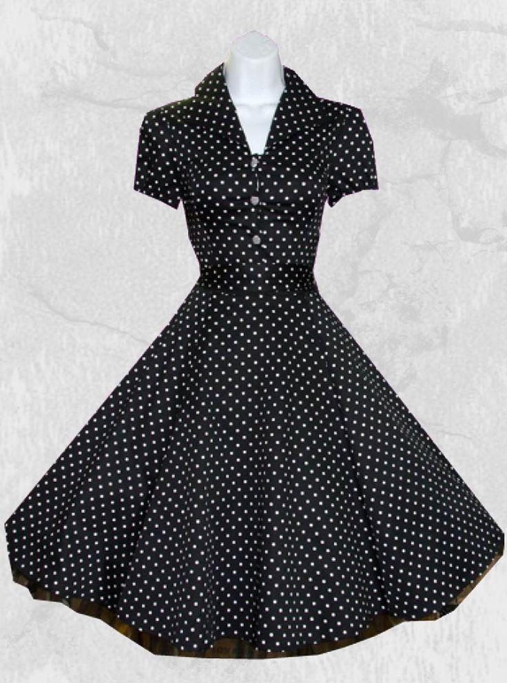 Robe pois vintage photos de robes - Photos noir et blanc vintage ...