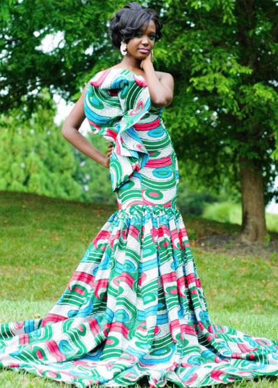 640c5b5ce28 Je veux trouver une belle robe femme sexy et de bonne qualité pas cher ICI.  Tenue de soirée en tissu pagne ...