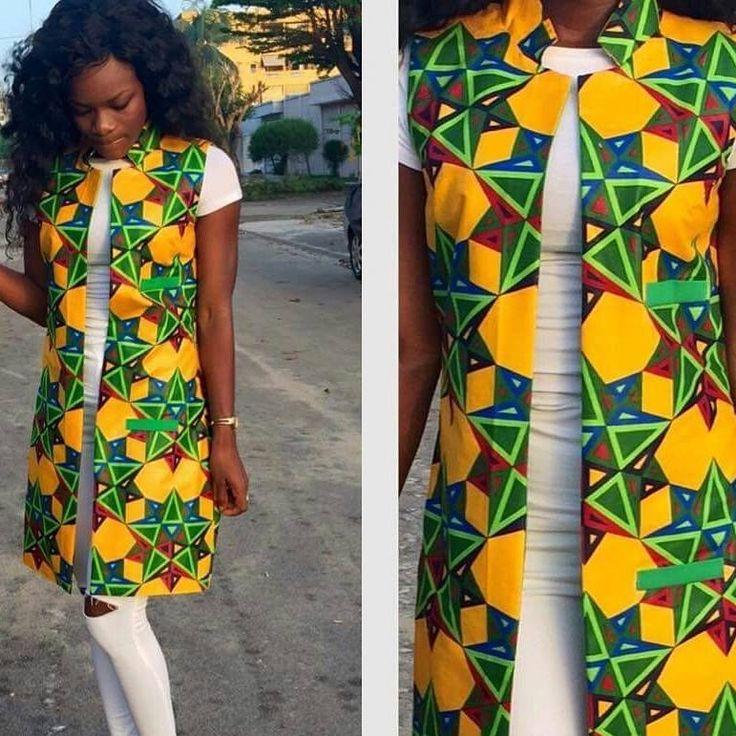 belle tenue en pagne africain