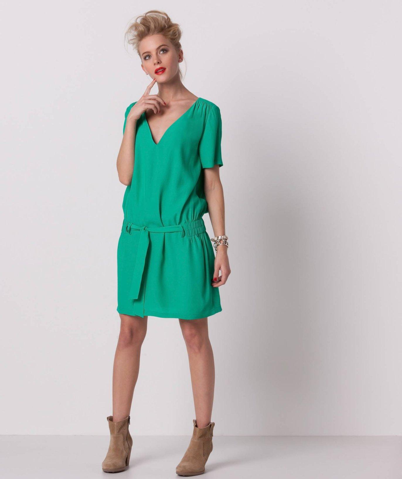 Robe droite fluide femme achat robe longue   Tarbes2012mondialpelote 625542f93848