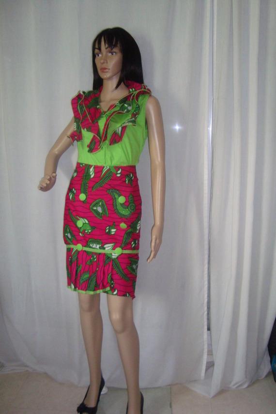 tissu africain a la mode