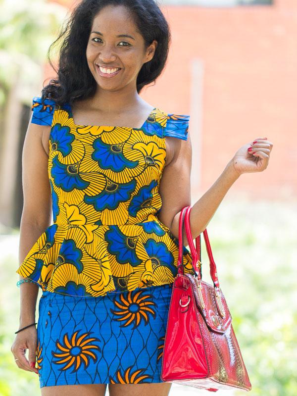 robe en pagne africaine photos de robes. Black Bedroom Furniture Sets. Home Design Ideas
