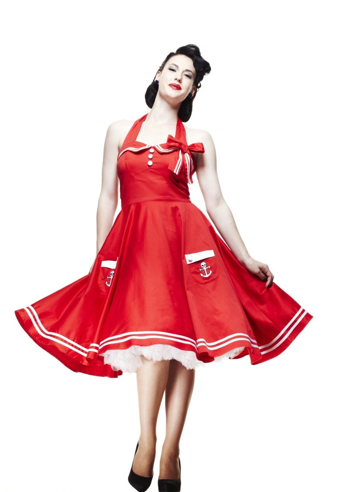 robe pin up rockabilly pas cher photos de robes. Black Bedroom Furniture Sets. Home Design Ideas